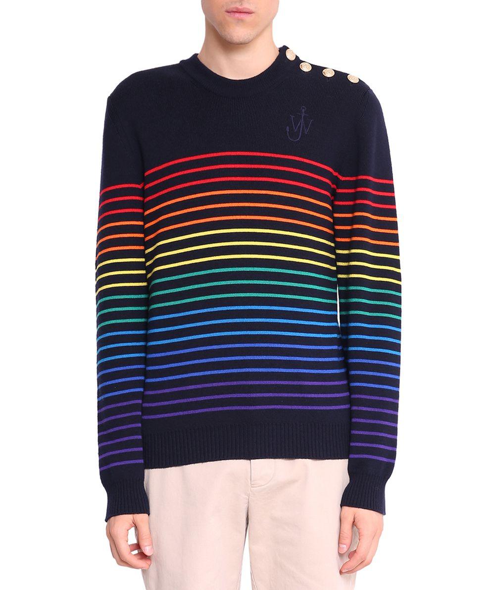 J.W. Anderson Striped Wool Sweater