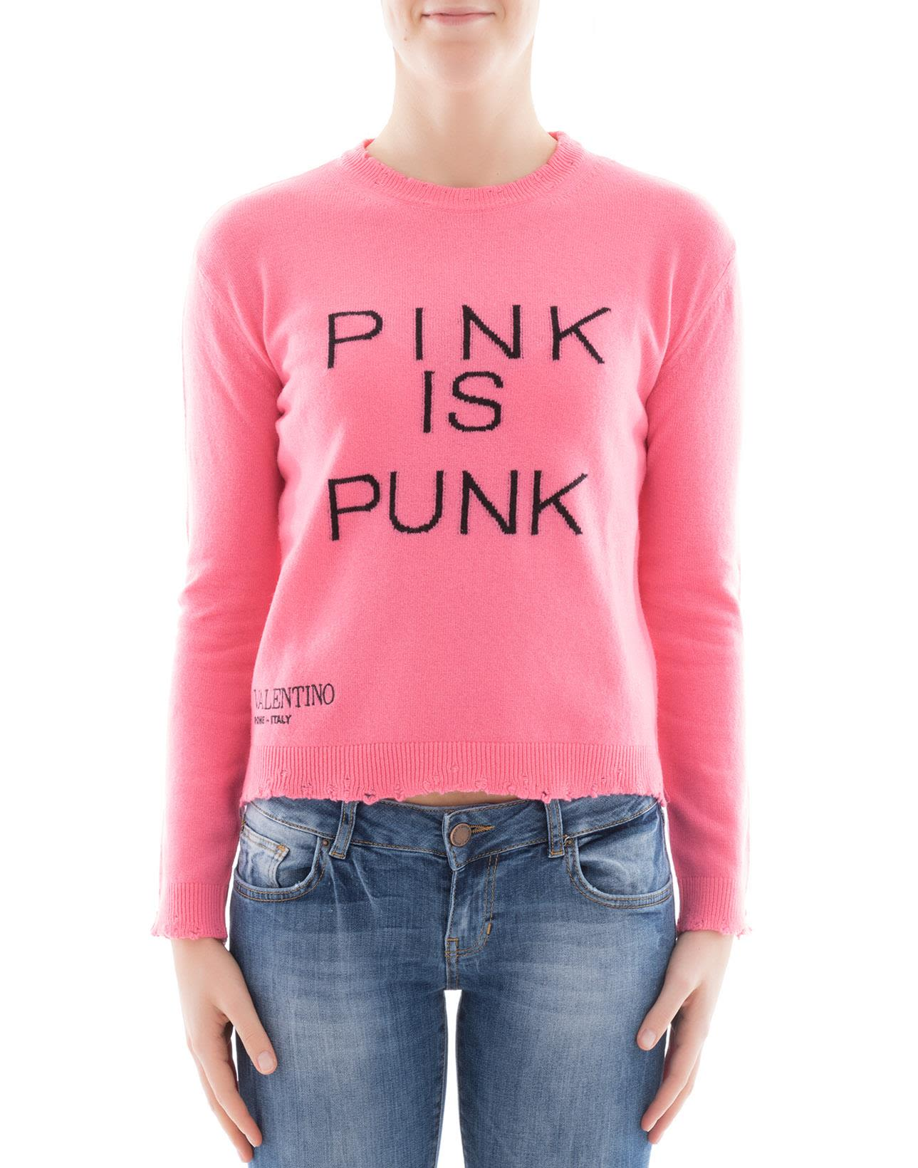 Pink Wool Sweatshirt
