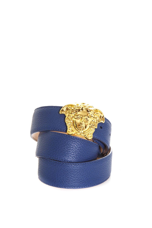Versace Palazzo Calf Leather Belt