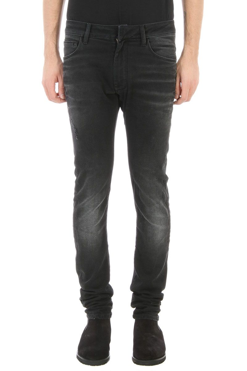 Ring Black Denim Jeans