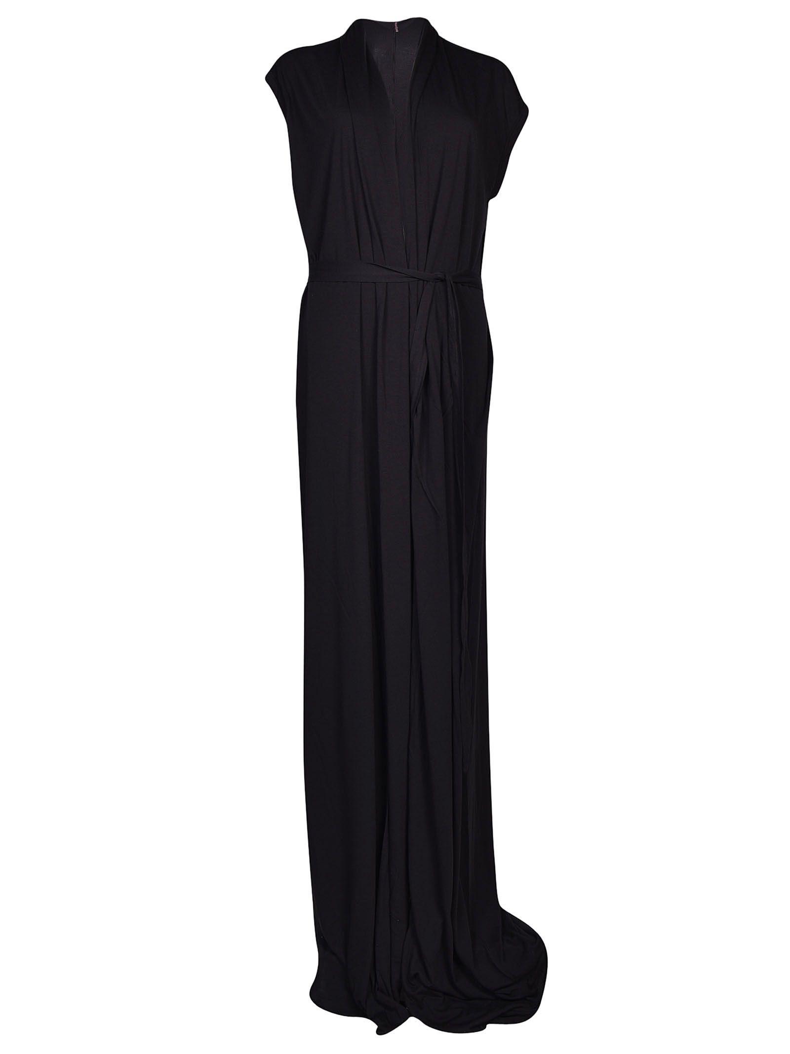 Rick Owens Lilies Pleated Long Dress