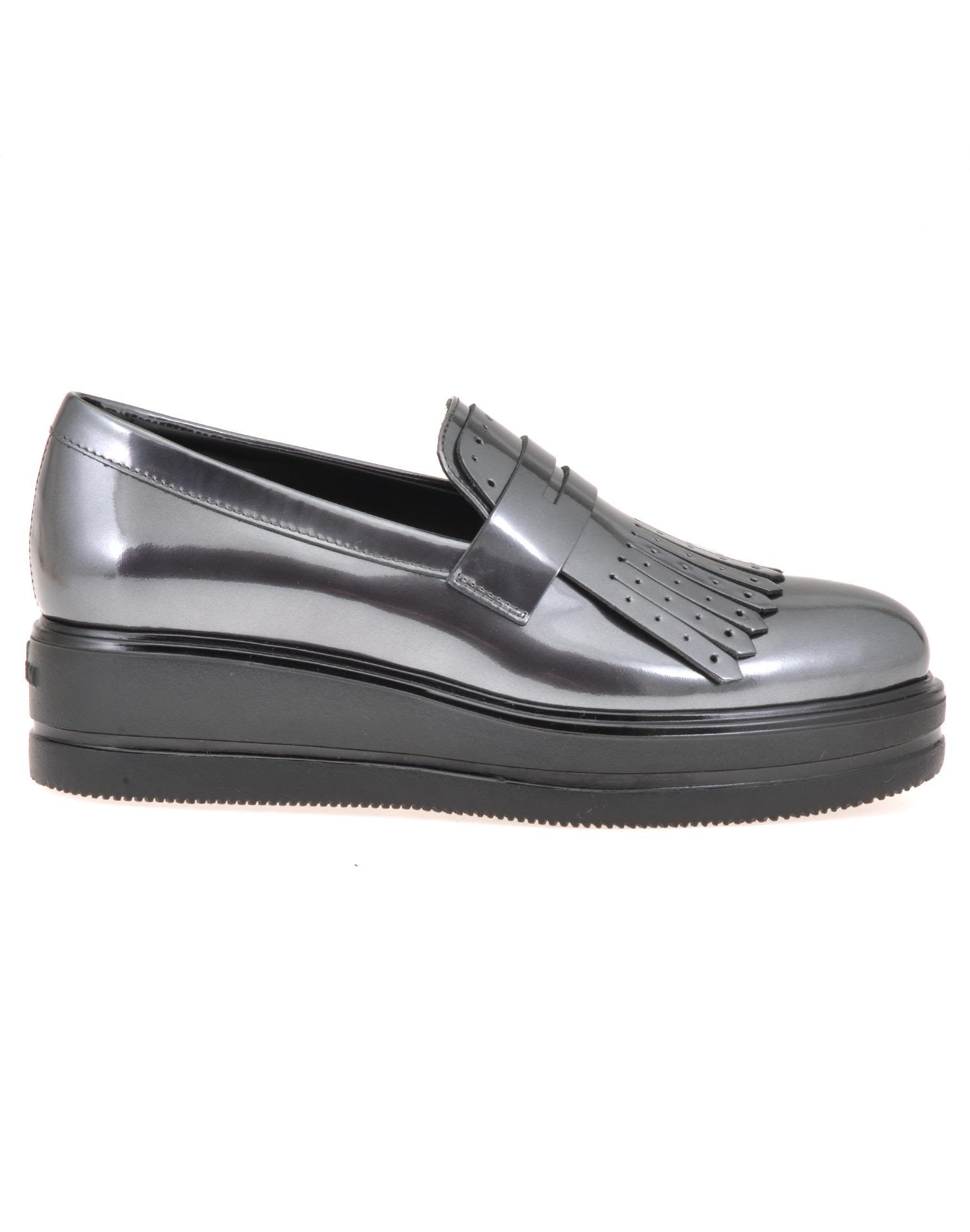 Hogan Leather Loafer