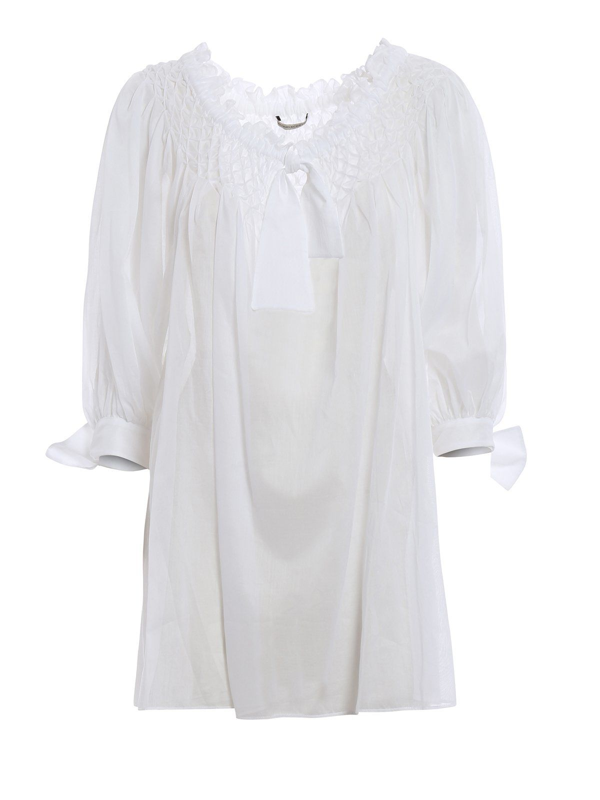 Ermanno Scervino Sheer Blouse