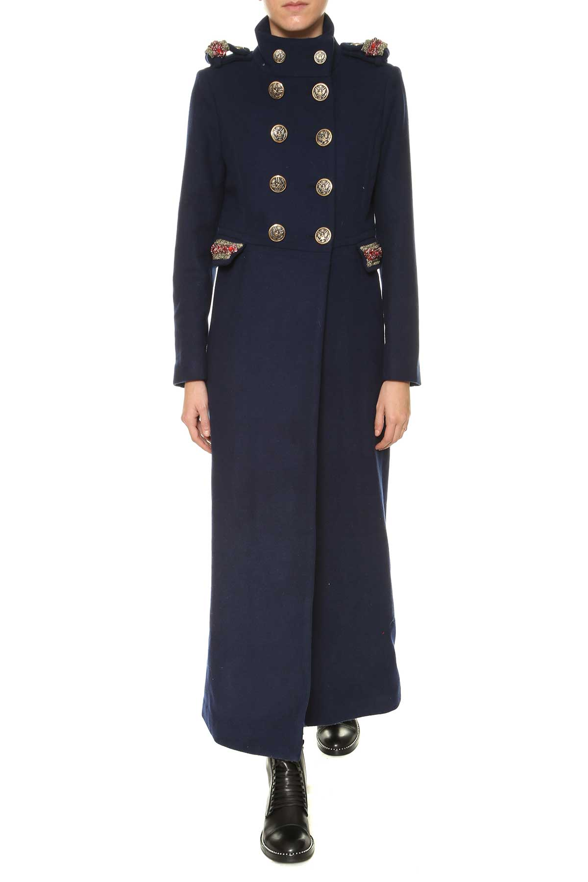 History Repeats Long Coat With Embroideries