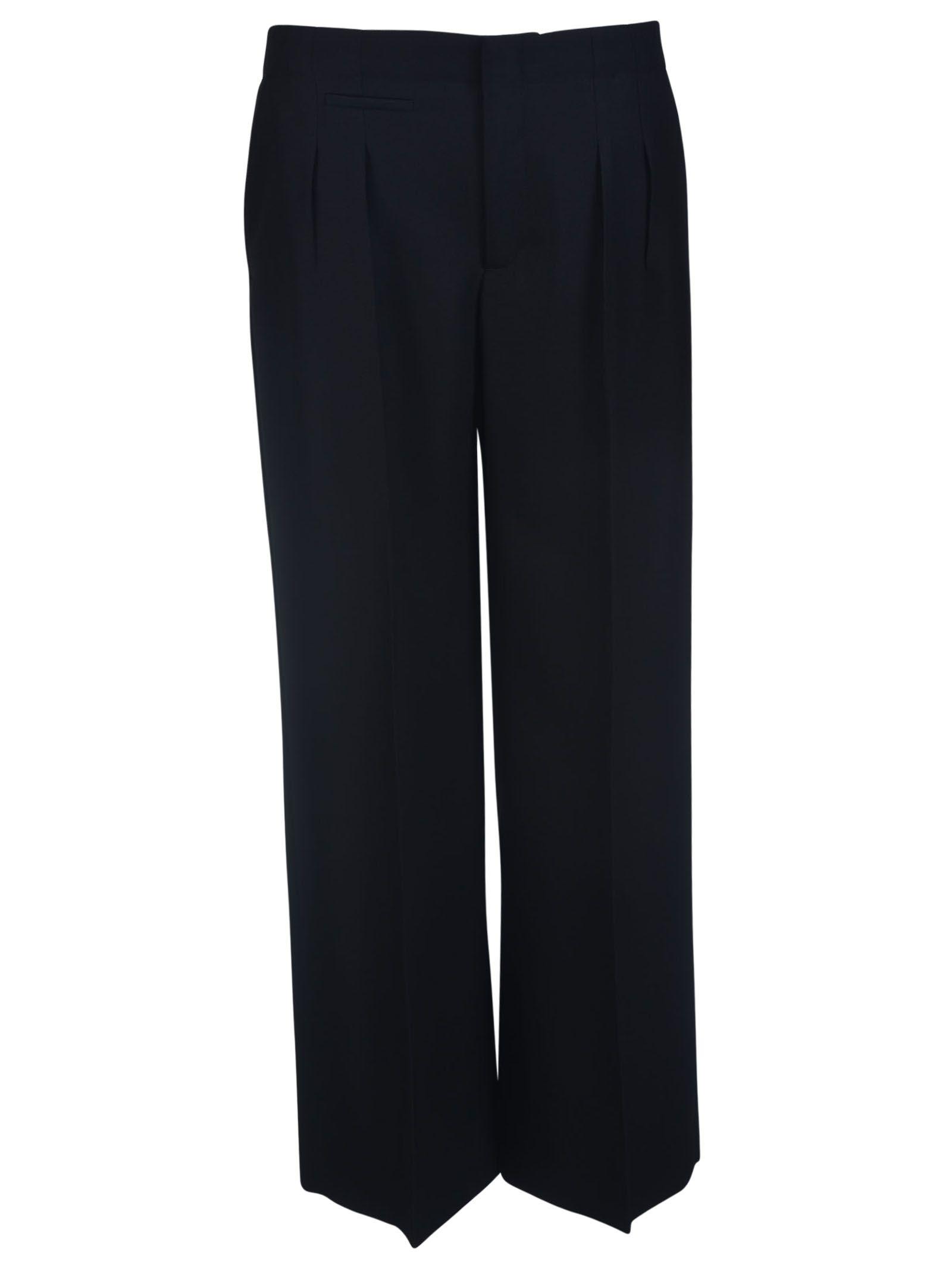 Maison Margiela Wide Leg Cropped Trousers
