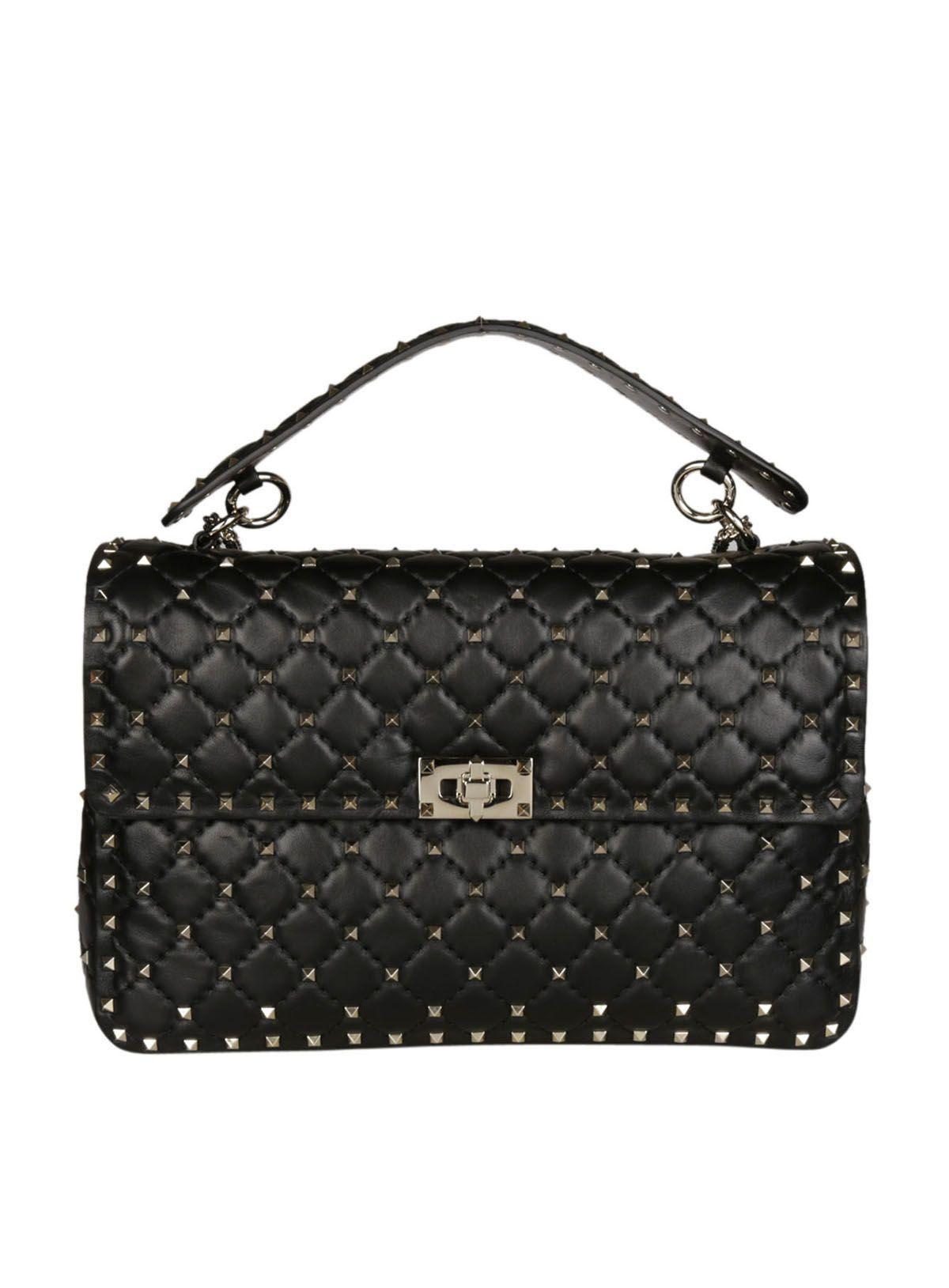 Valentino Valentino Large Rockstud Spike Shoulder Bag
