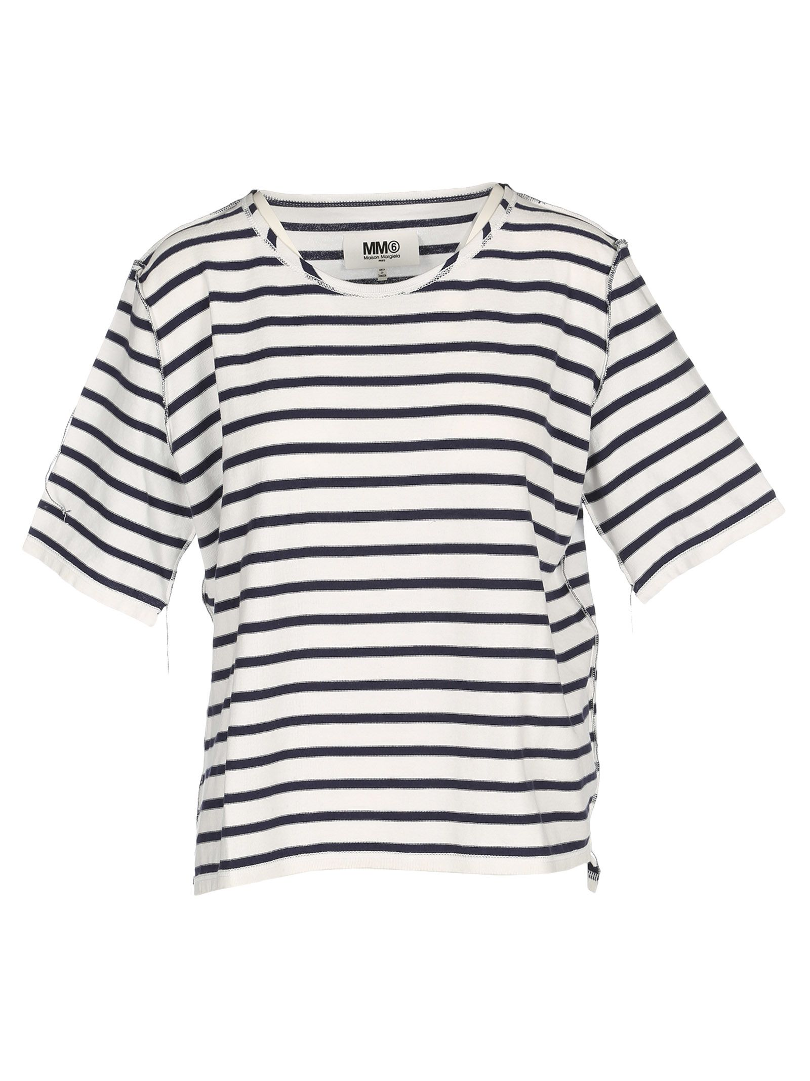 Mm6 Maison Margiela Oversized Striped T-shirt