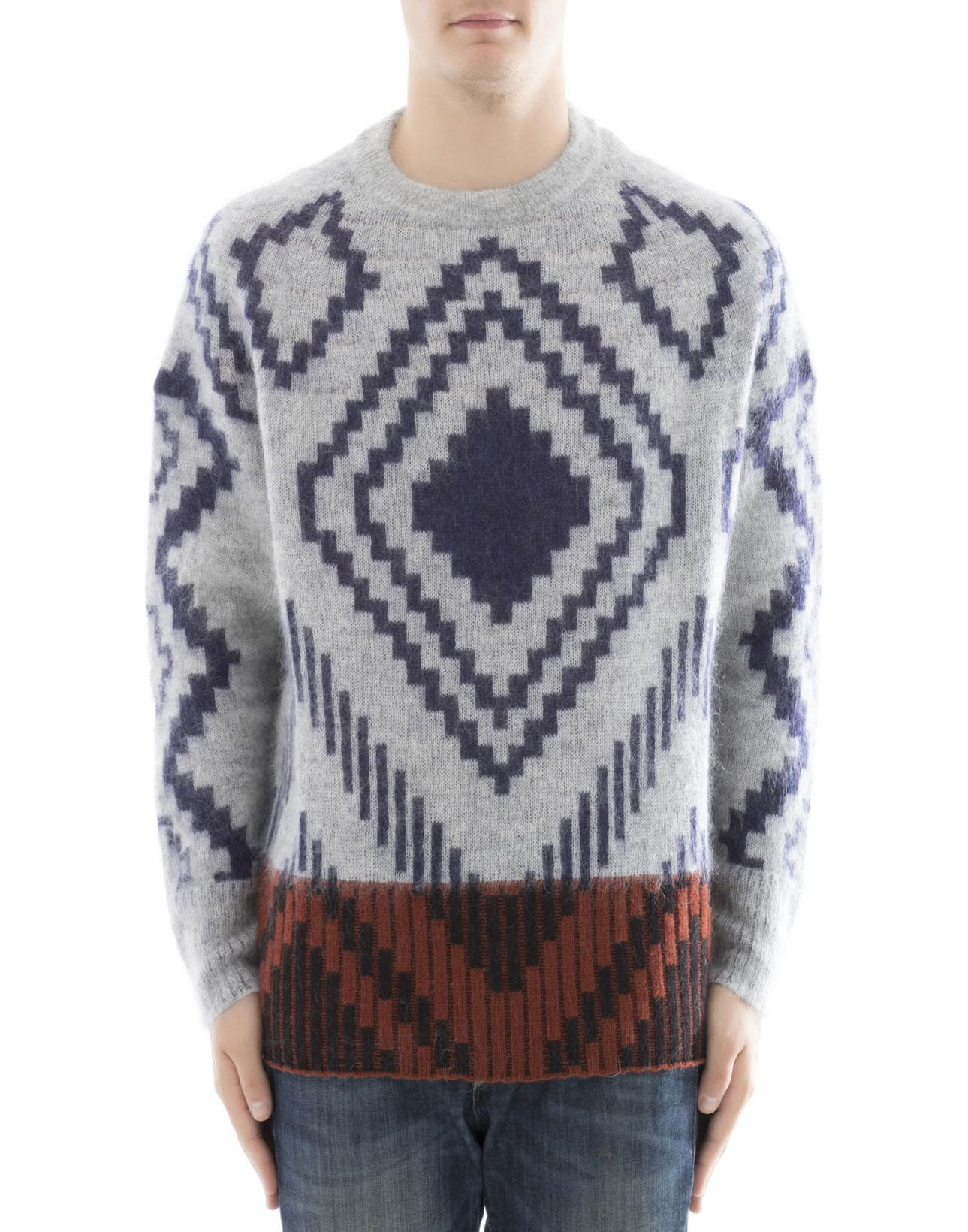 Multicolor Wool Sweatshirt