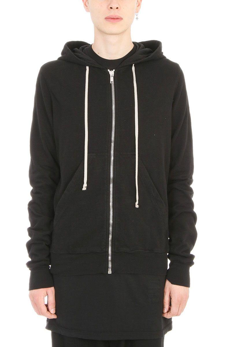 DRKSHDW Black Jersey Sweatshirt