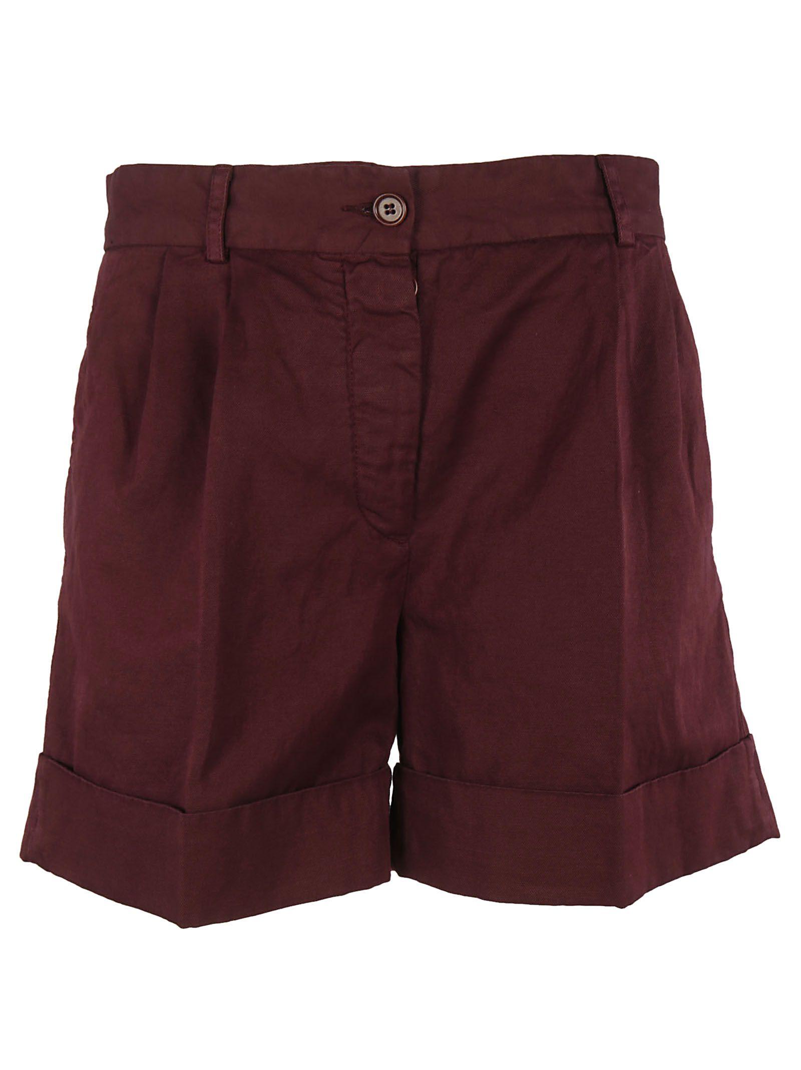 Aspesi Folded Hem Shorts