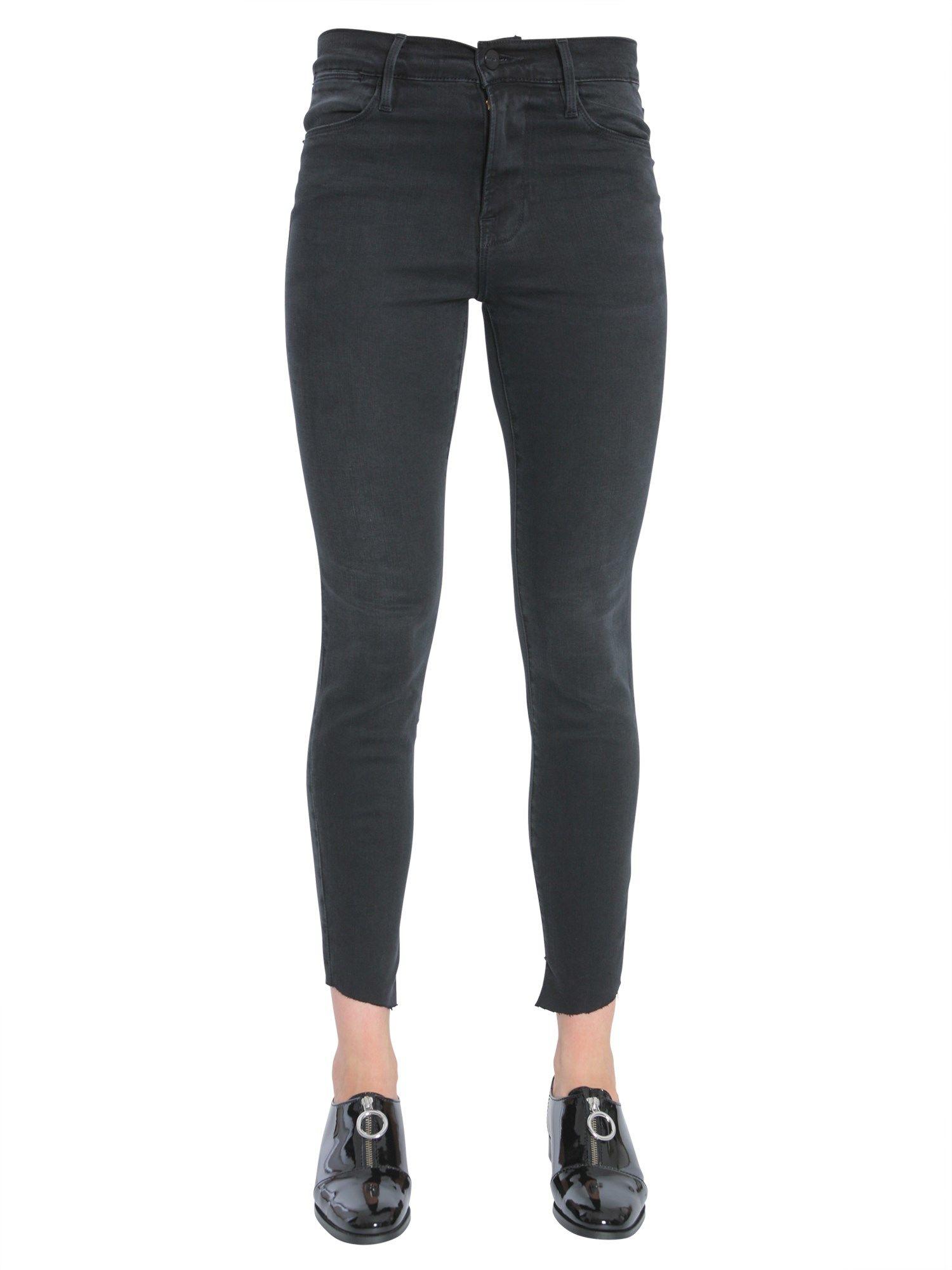 Le High Skinny Cascade Hem Jeans