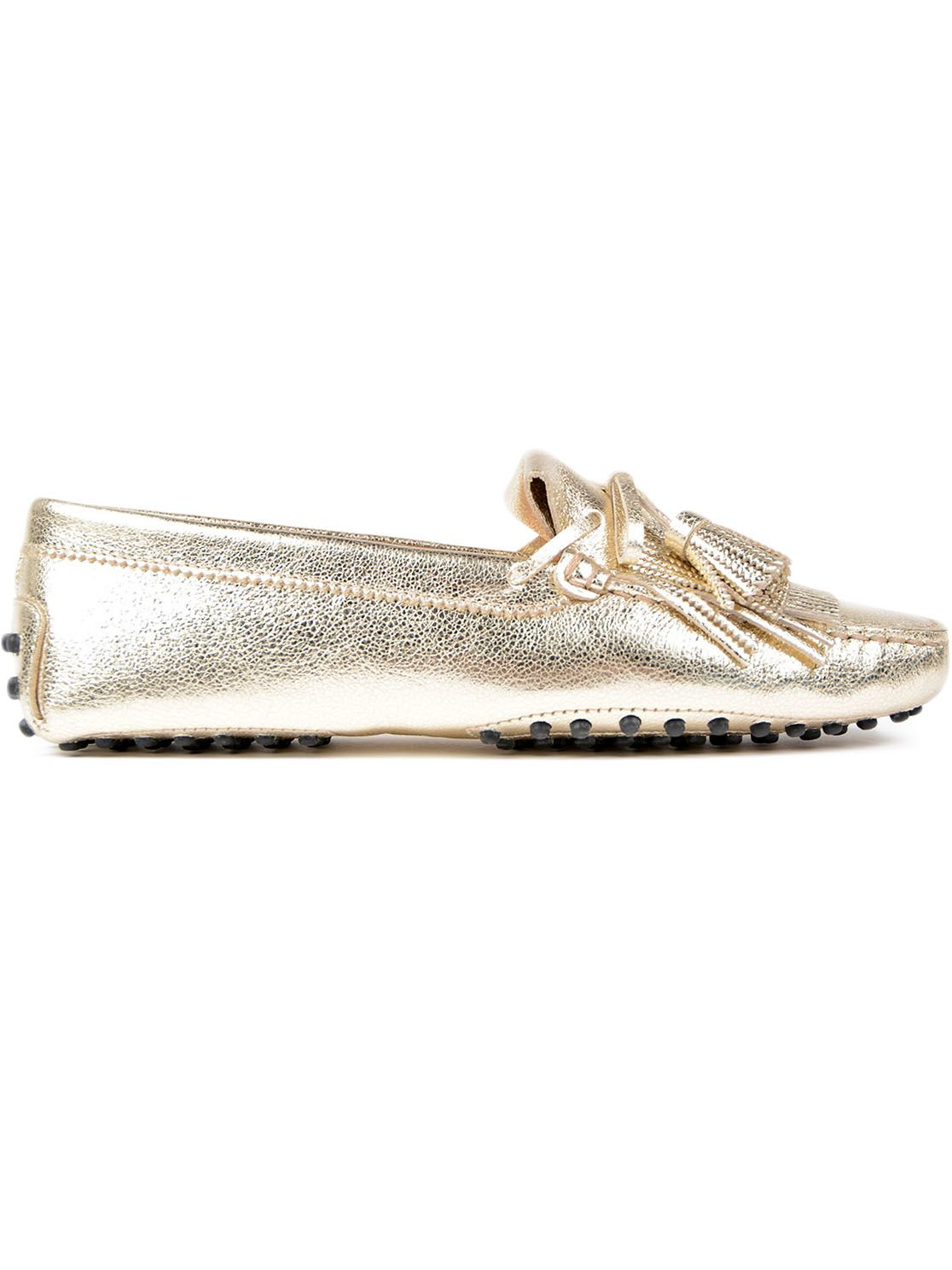 Tods Tassel Detailed Loafers