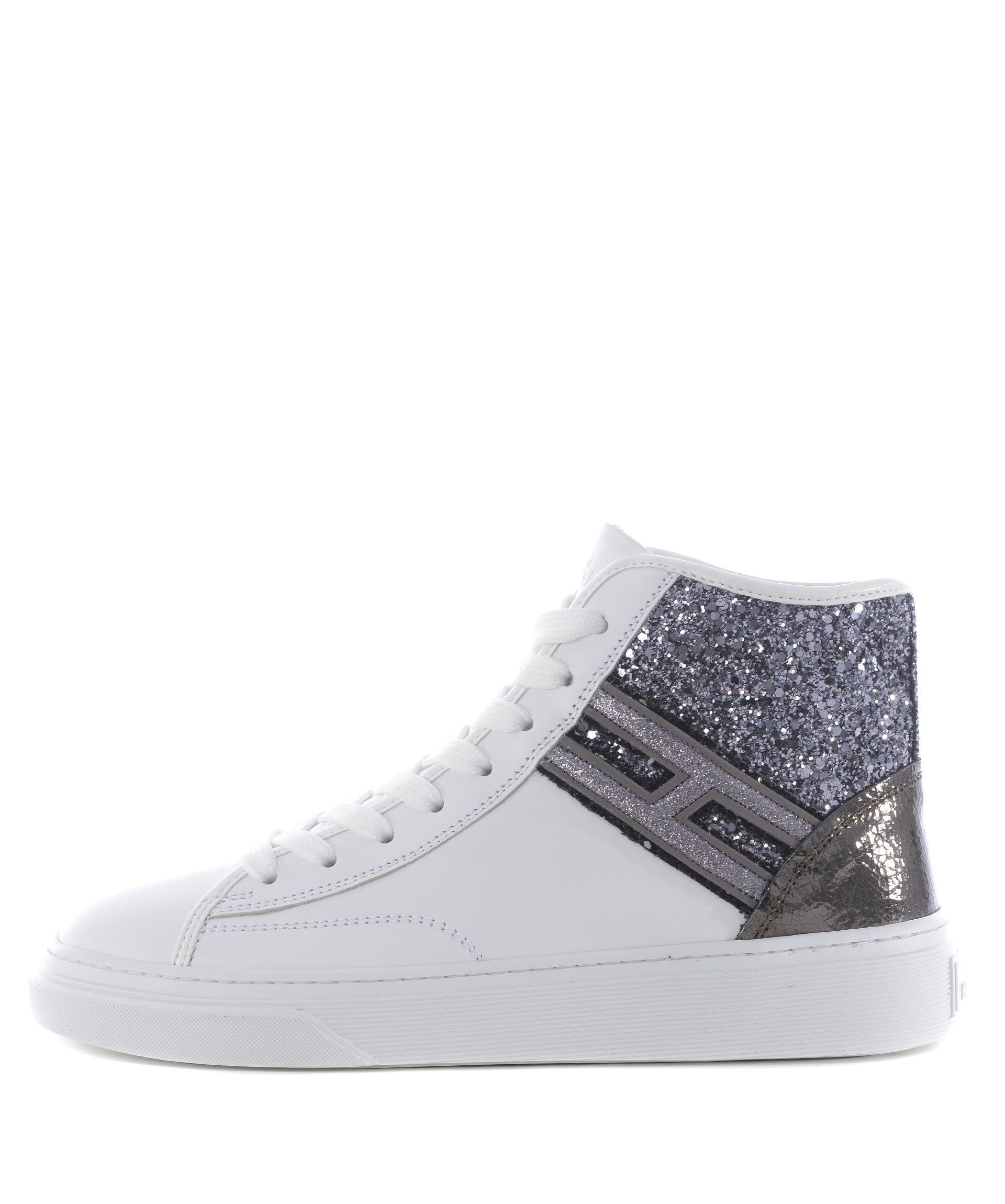 Hogan Glitter Hi-top Sneakers