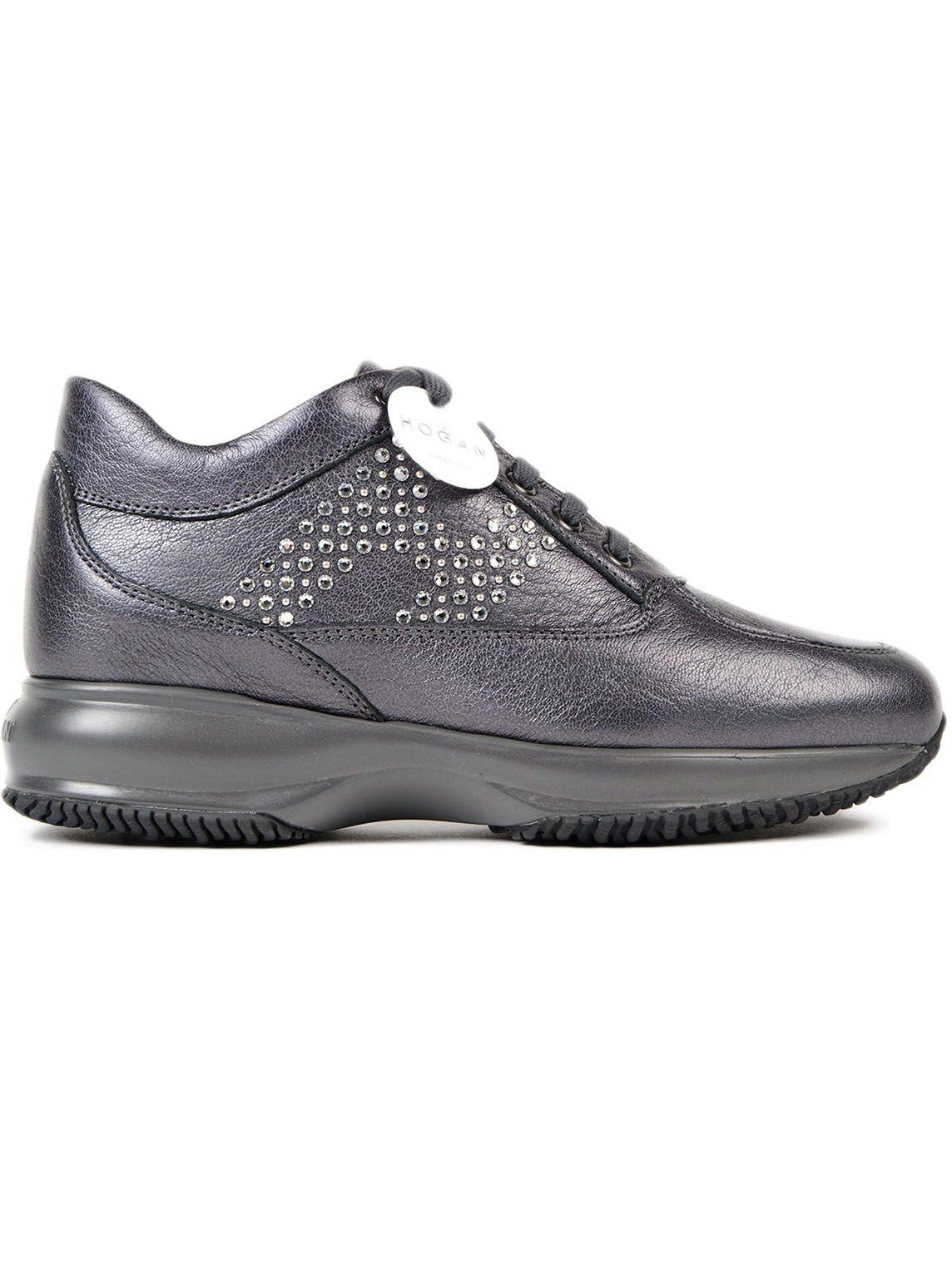 Hogan Crystal Embellished Sneakers