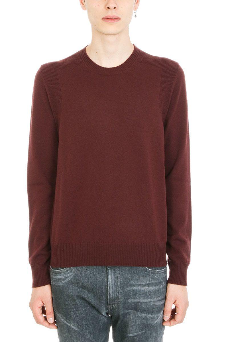 Maison Margiela Bordeaux Wool Sweater