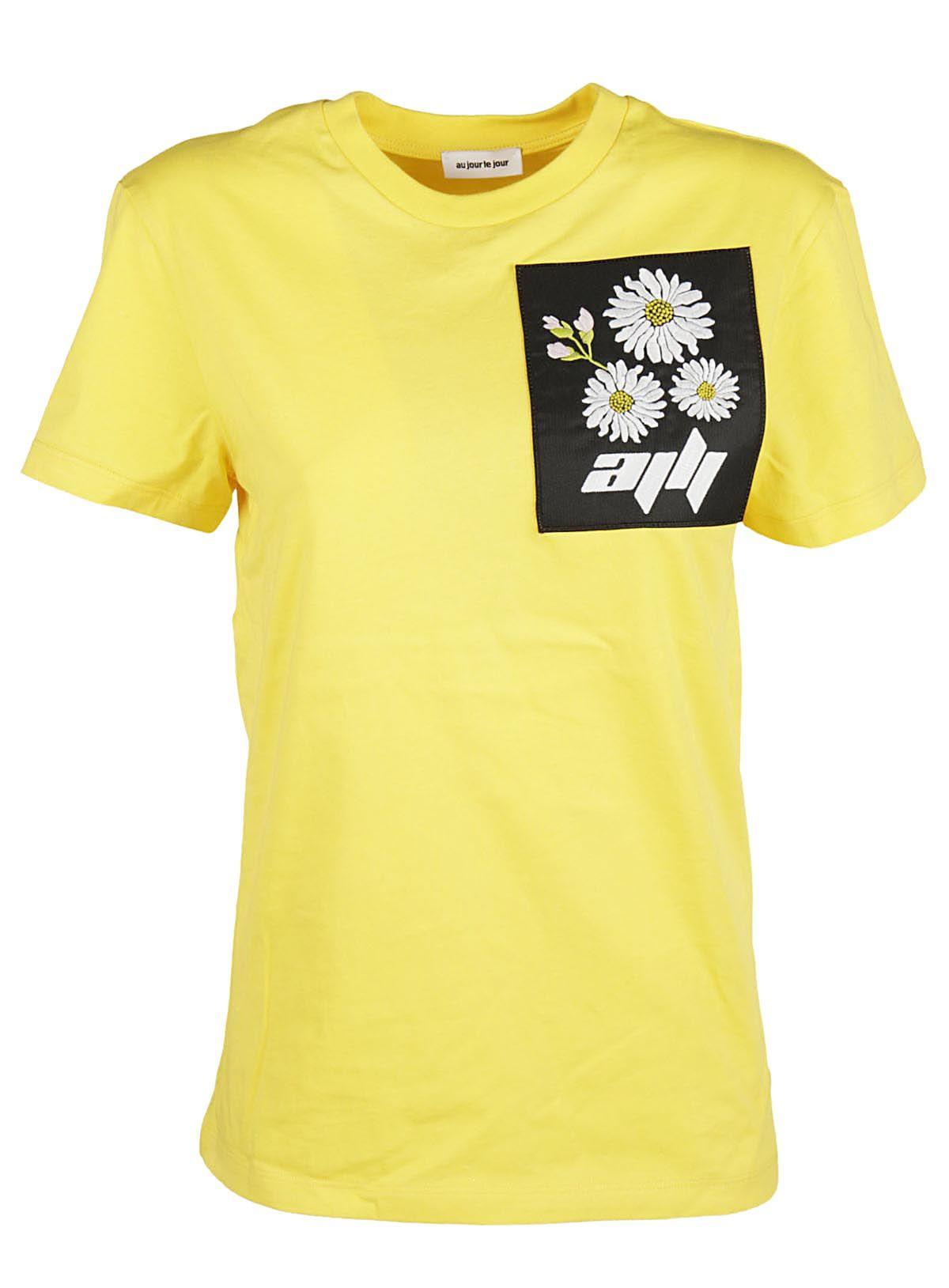 Au Jour Le Jour Au Jour Le Jour Flower Patch T-shirt