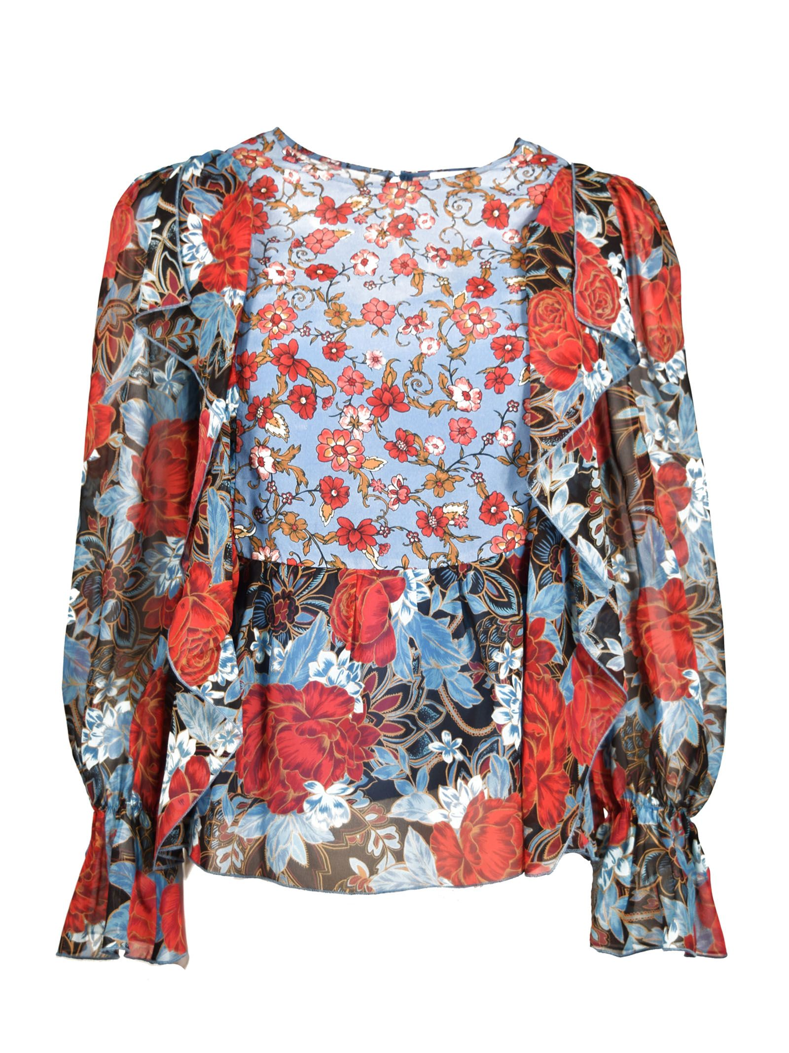 See By Chlo Floral Blouse