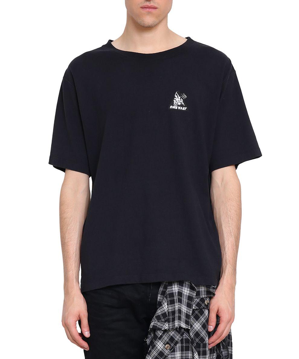 Ben Taverniti Unravel Project Skull Skate Cotton T-shirt 10094380