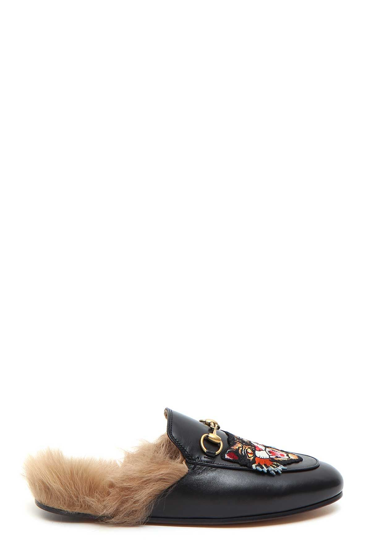 Gucci Angrycat Patch princetown Slipper