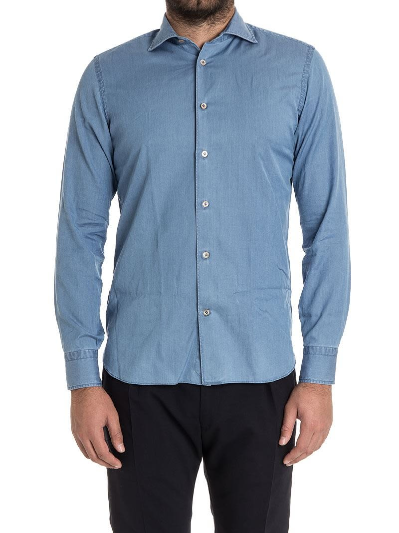 Borriello Shirt Denim Cotton