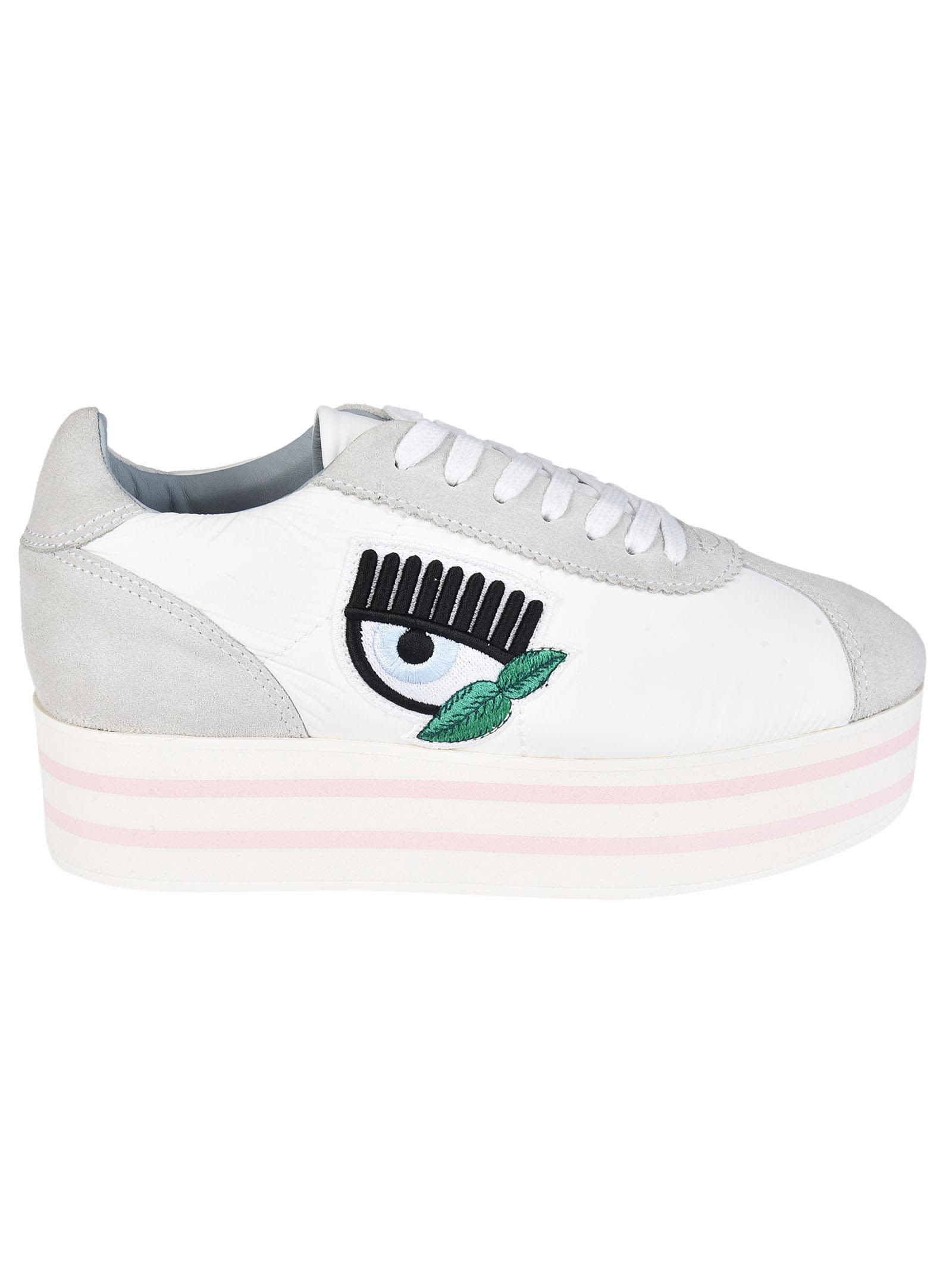 Chiara Ferragni Logomania Platform Sneakers