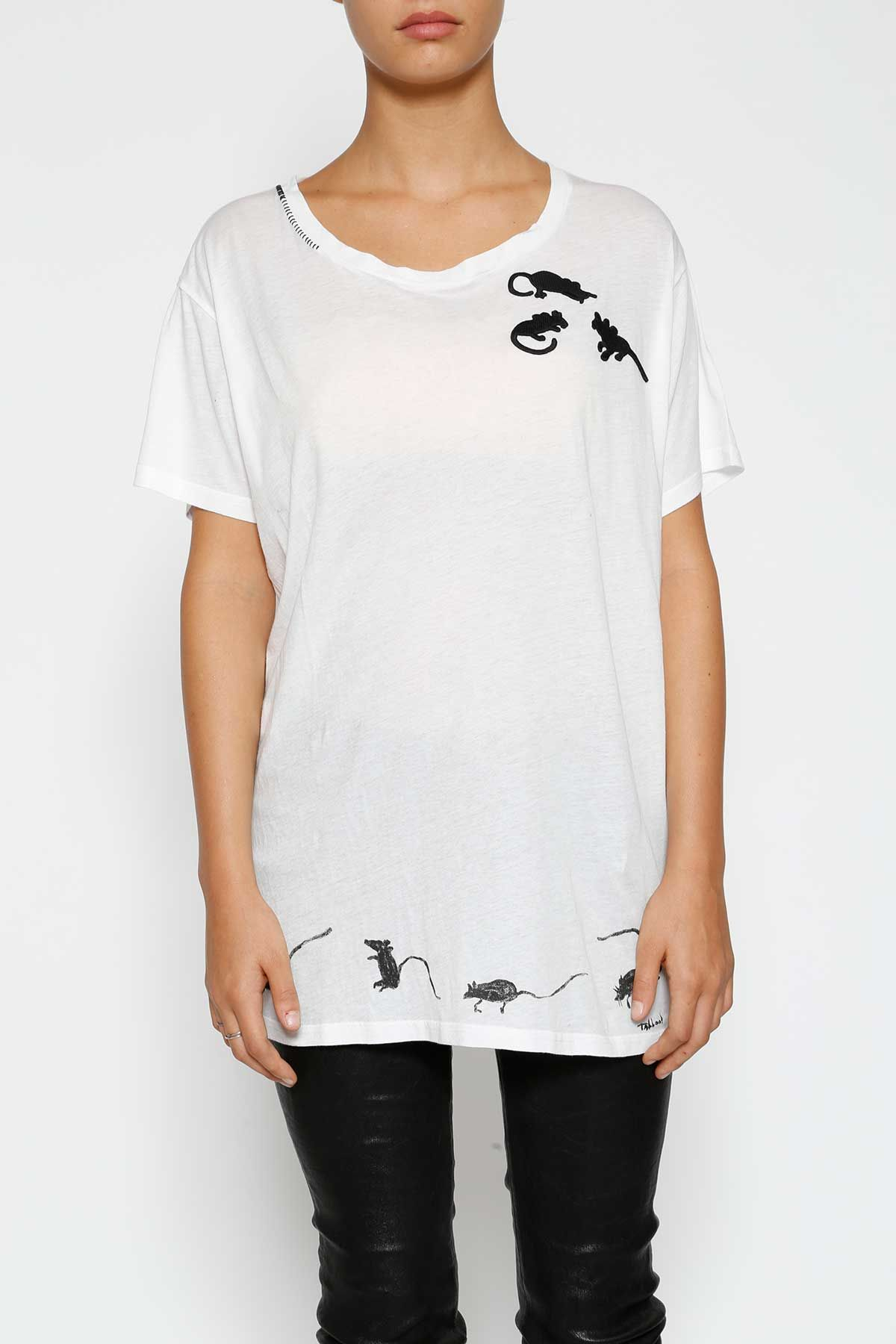 Marc By Marc Jacobs Oversize Embroidered T-shirt