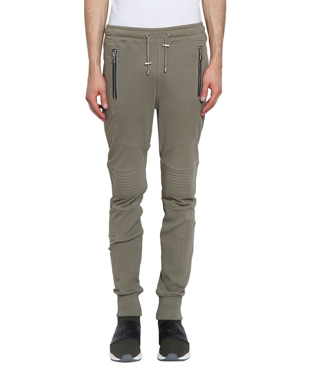 Balmain Biker Cotton Sweatpants