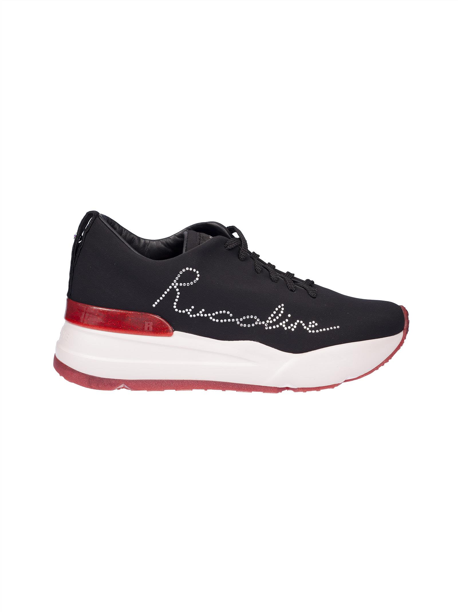 Ruco Line Studded Logo Sneakers