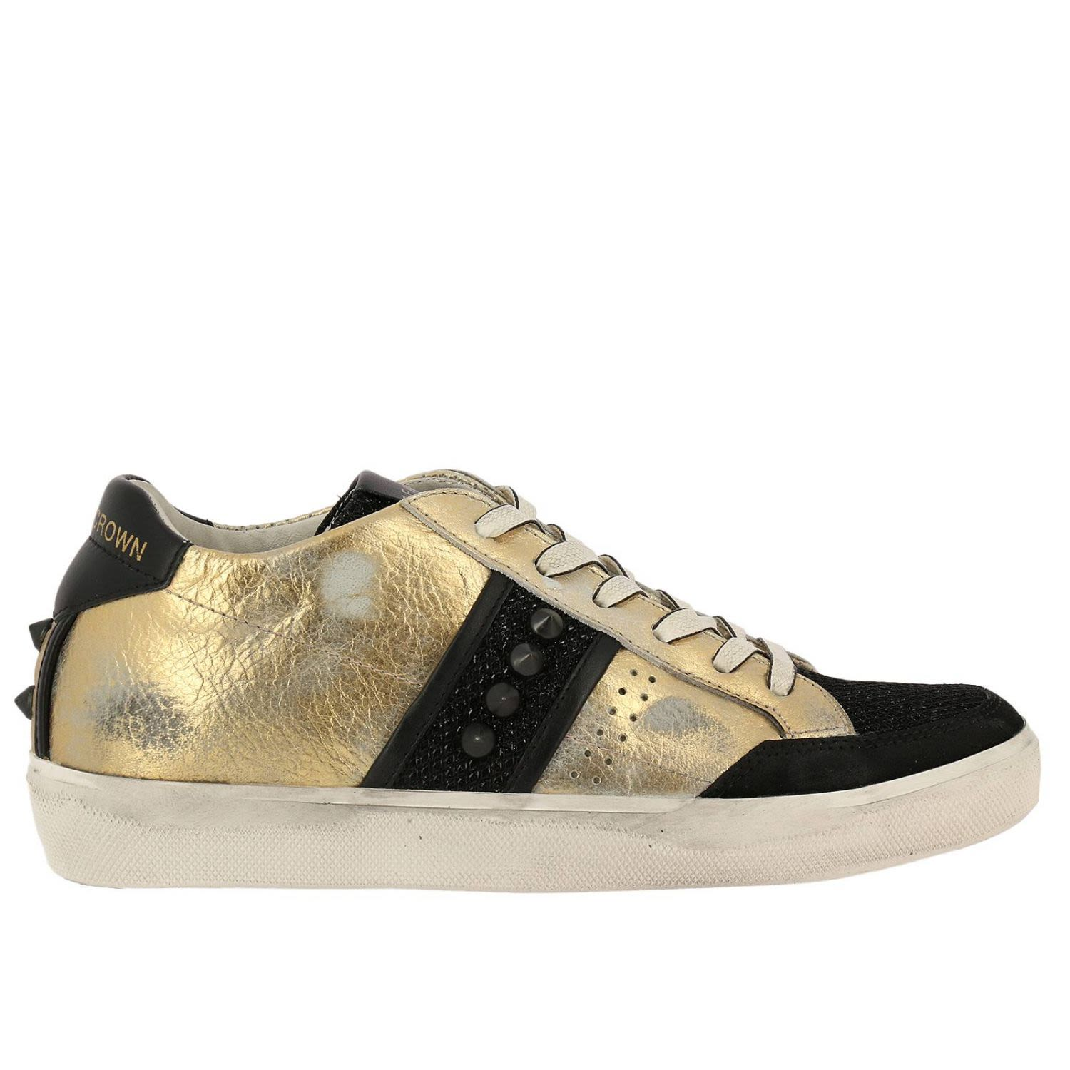 Shoes Shoes Women Leather Crown