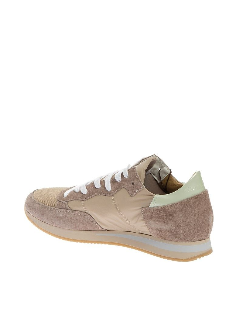 philippe model philippe model sneaker tropez beige men 39 s sneakers italist. Black Bedroom Furniture Sets. Home Design Ideas