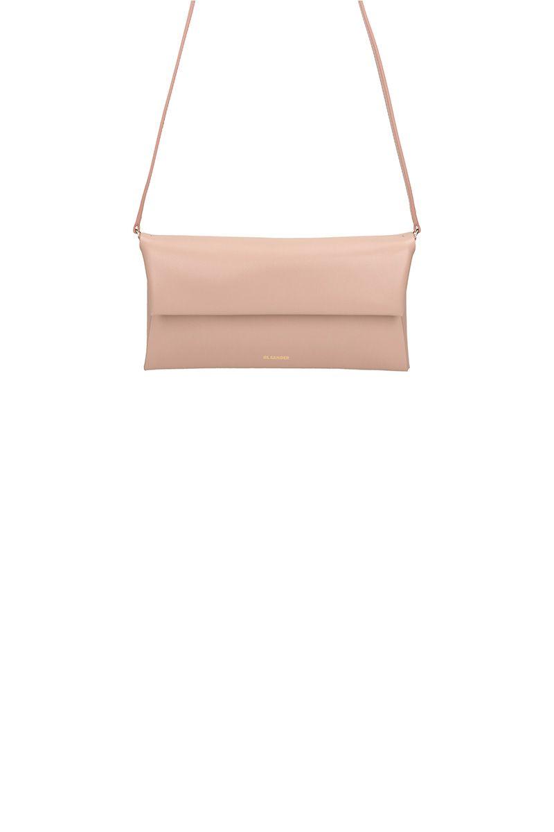 Jil Sander Pink Leather Bag
