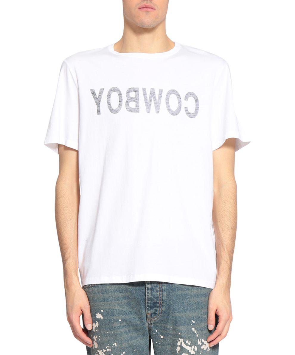 Helmut Lang Cowby 2004 Cotton T-shirt