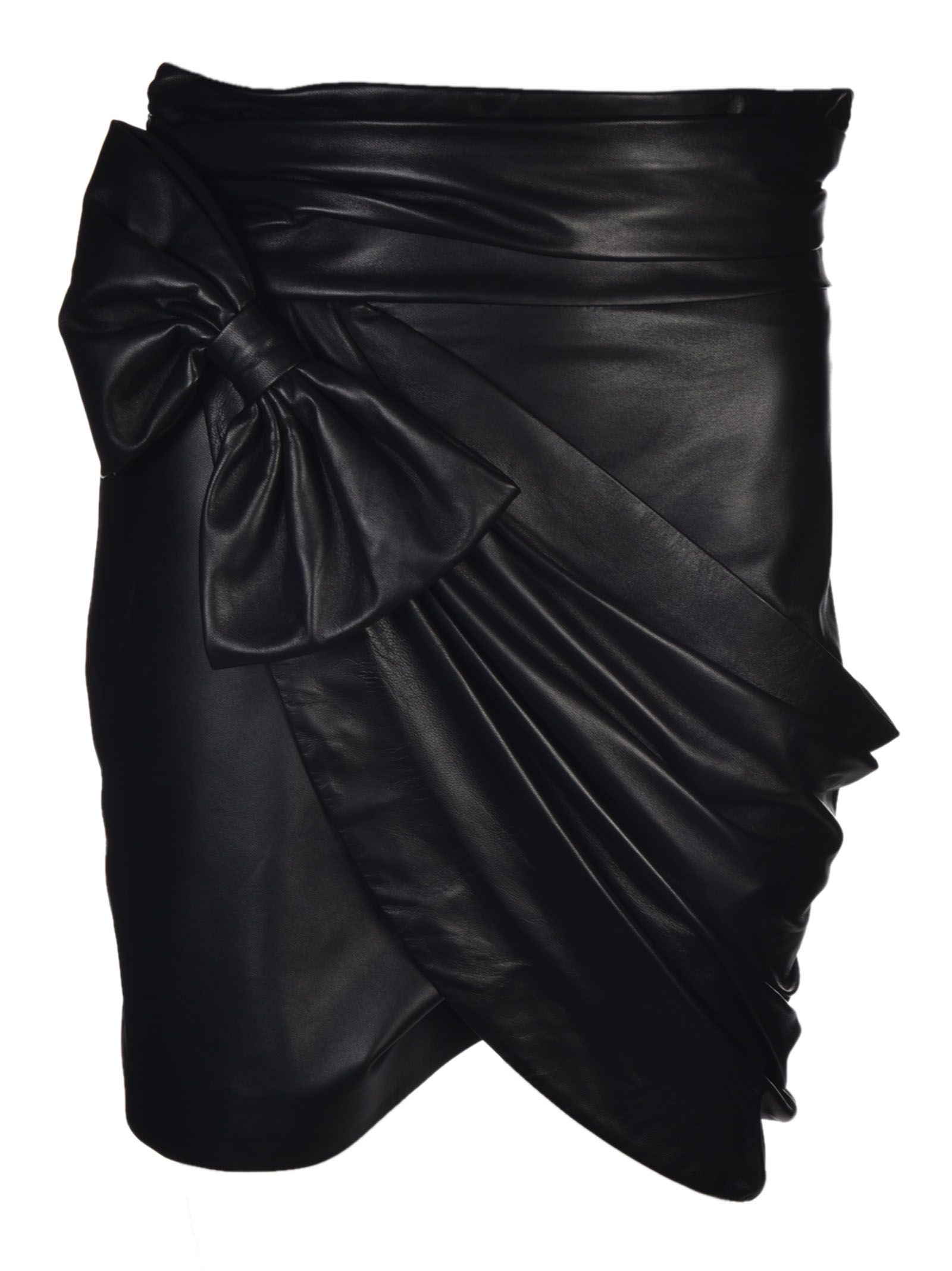 Redemption Leather Skirt