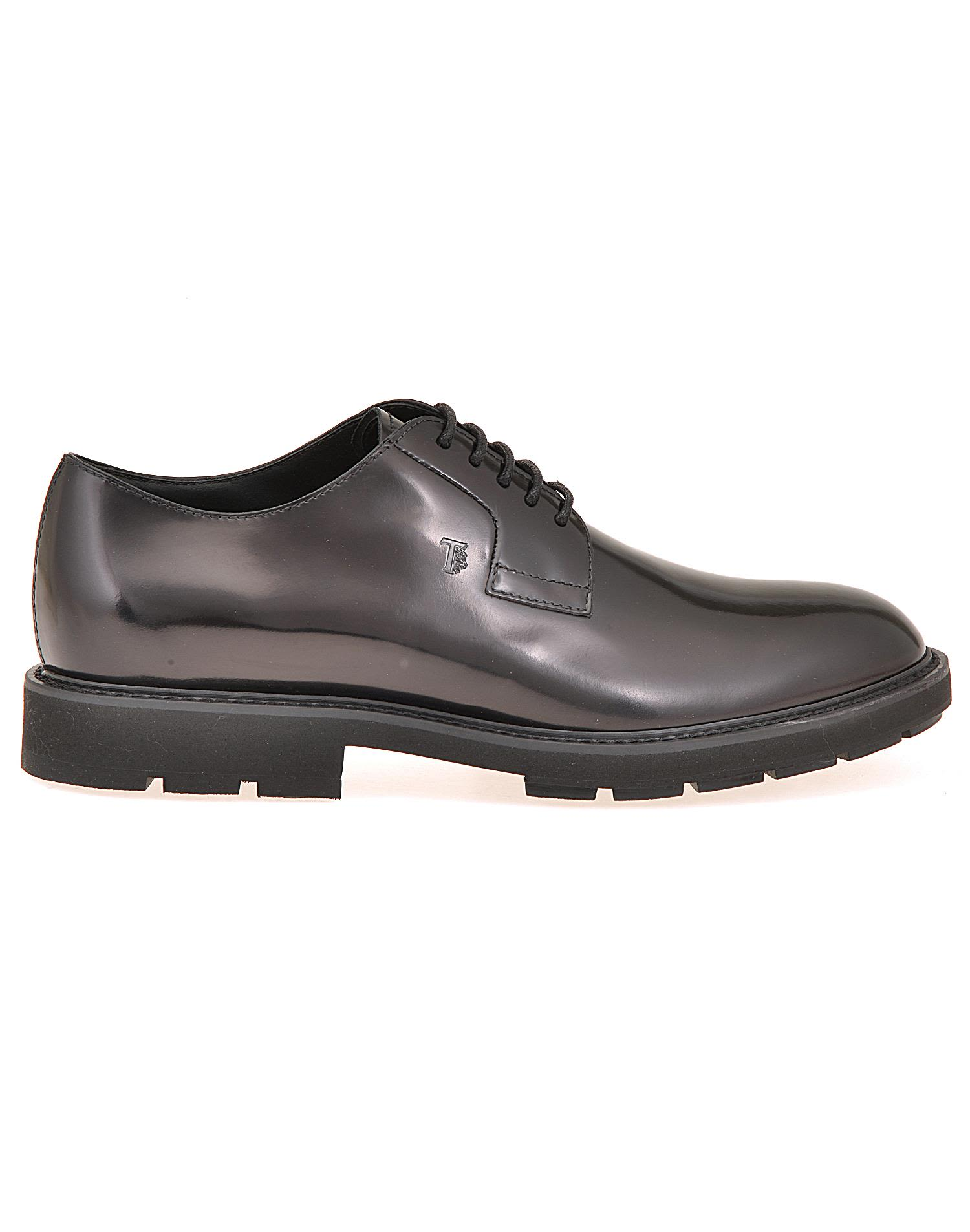 Tods Leather Lace Up Shoe