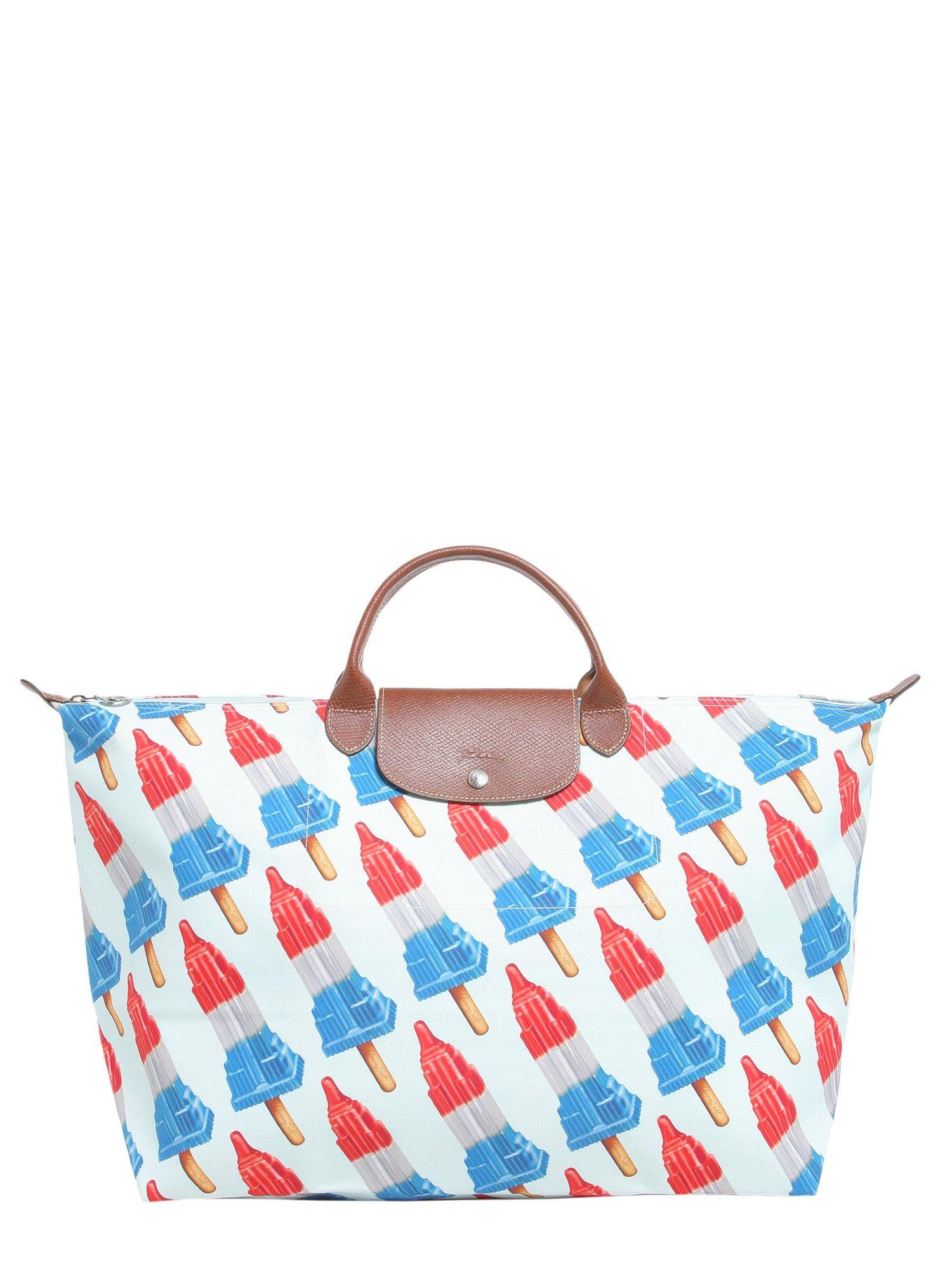 Longchamp Bag Le Pliage House Of Fraser : Longchamp le pliage travel bag multicolor women s