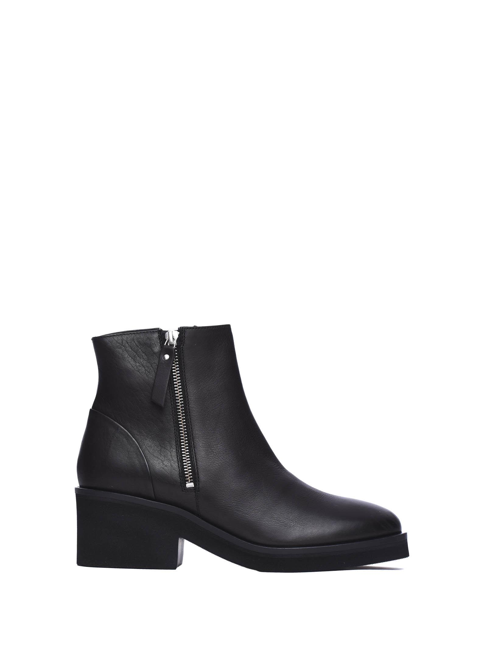 Vic Matié Ankle Boots With Side Zip
