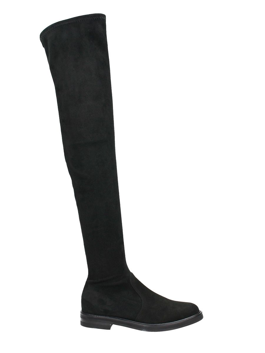 Lerre Black Suede Leather Boots