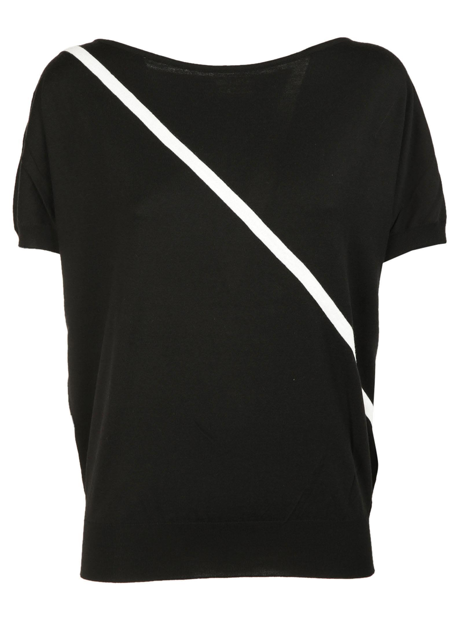 Lanvin Diagonal Stripe T-shirt