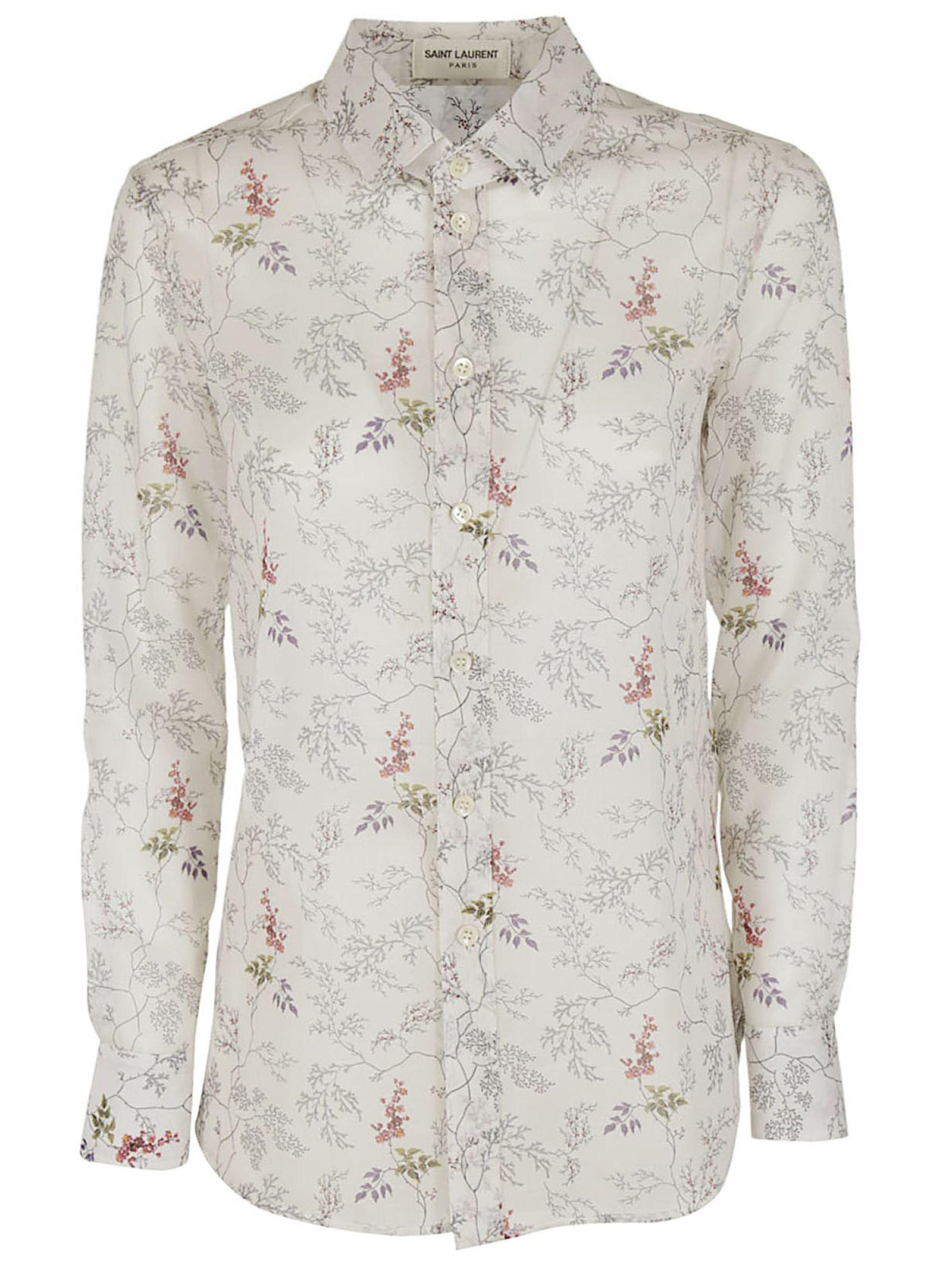 Saint Laurent Floral Shirt