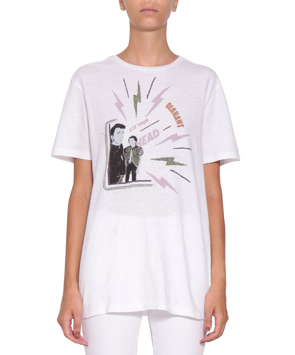 Isabel marant etoile isabel marant etoile cotton jersey for Isabel marant t shirt sale
