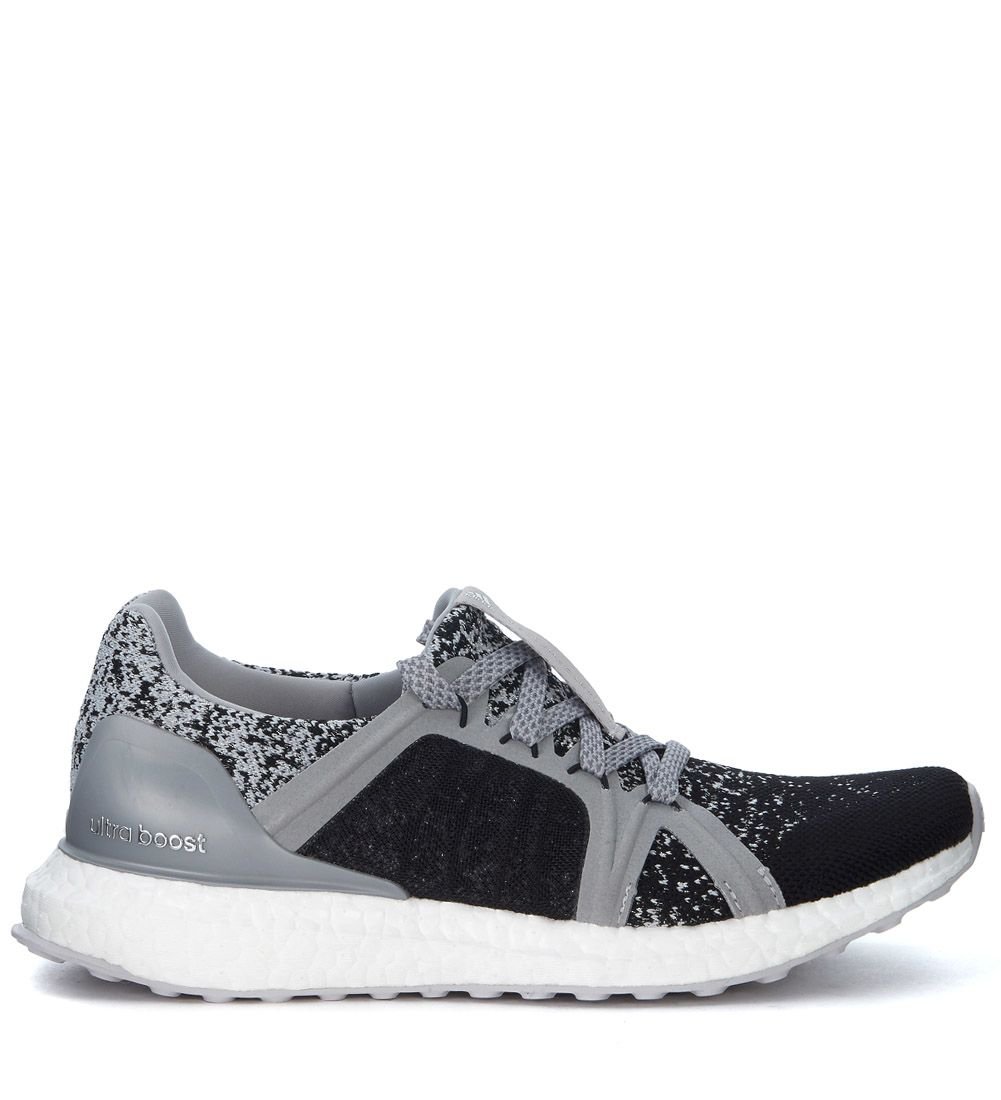 Adidas By Stella Mccartney Ultra Boost Black And Silver Sneaker