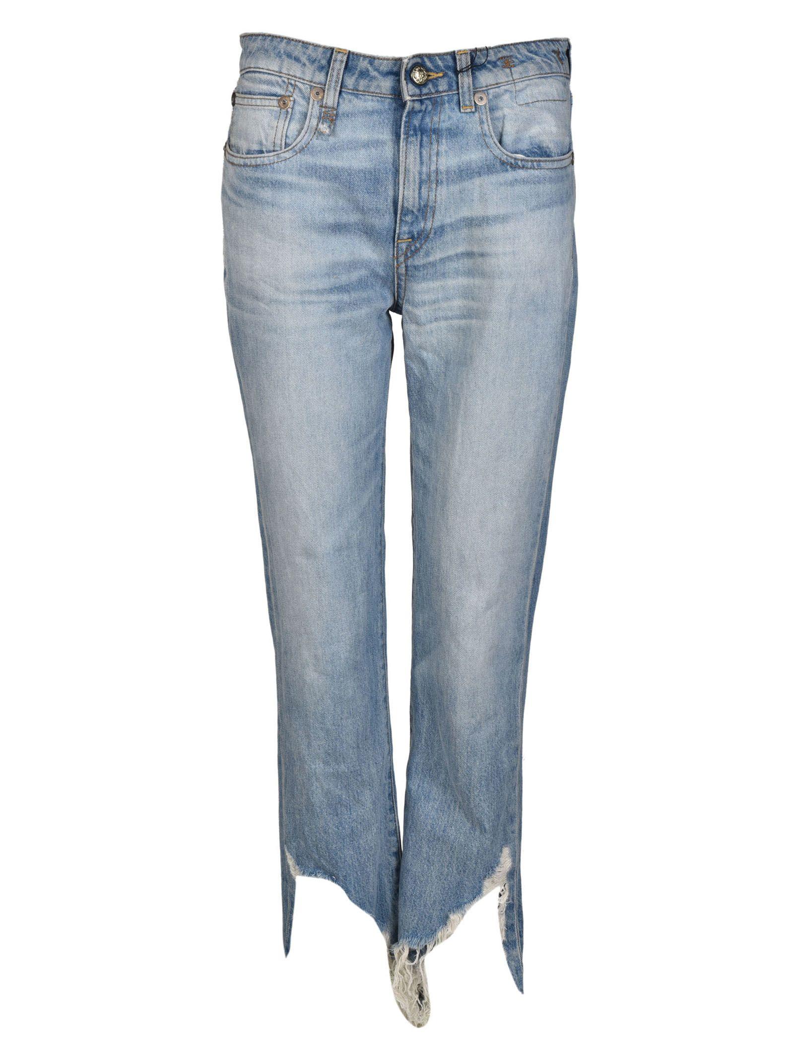 R13 Kick Fit Mason Jeans