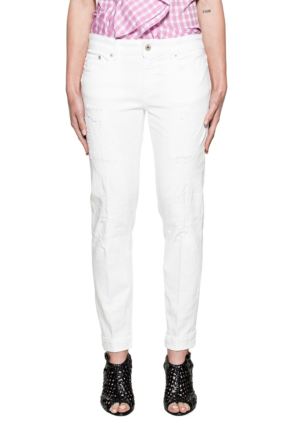 White Monroe Denim Jeans