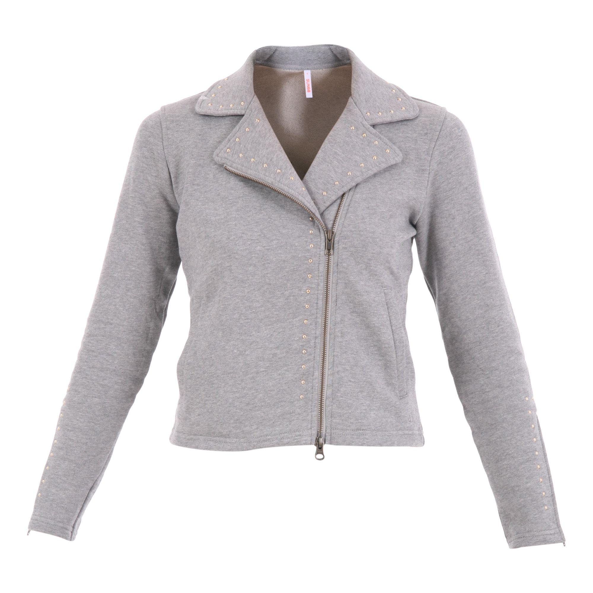 Sun 68 Fleece Cotton Unlined Jacket