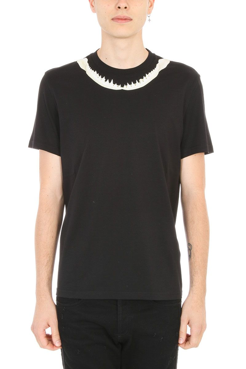 Givenchy Black Shark T-shirt