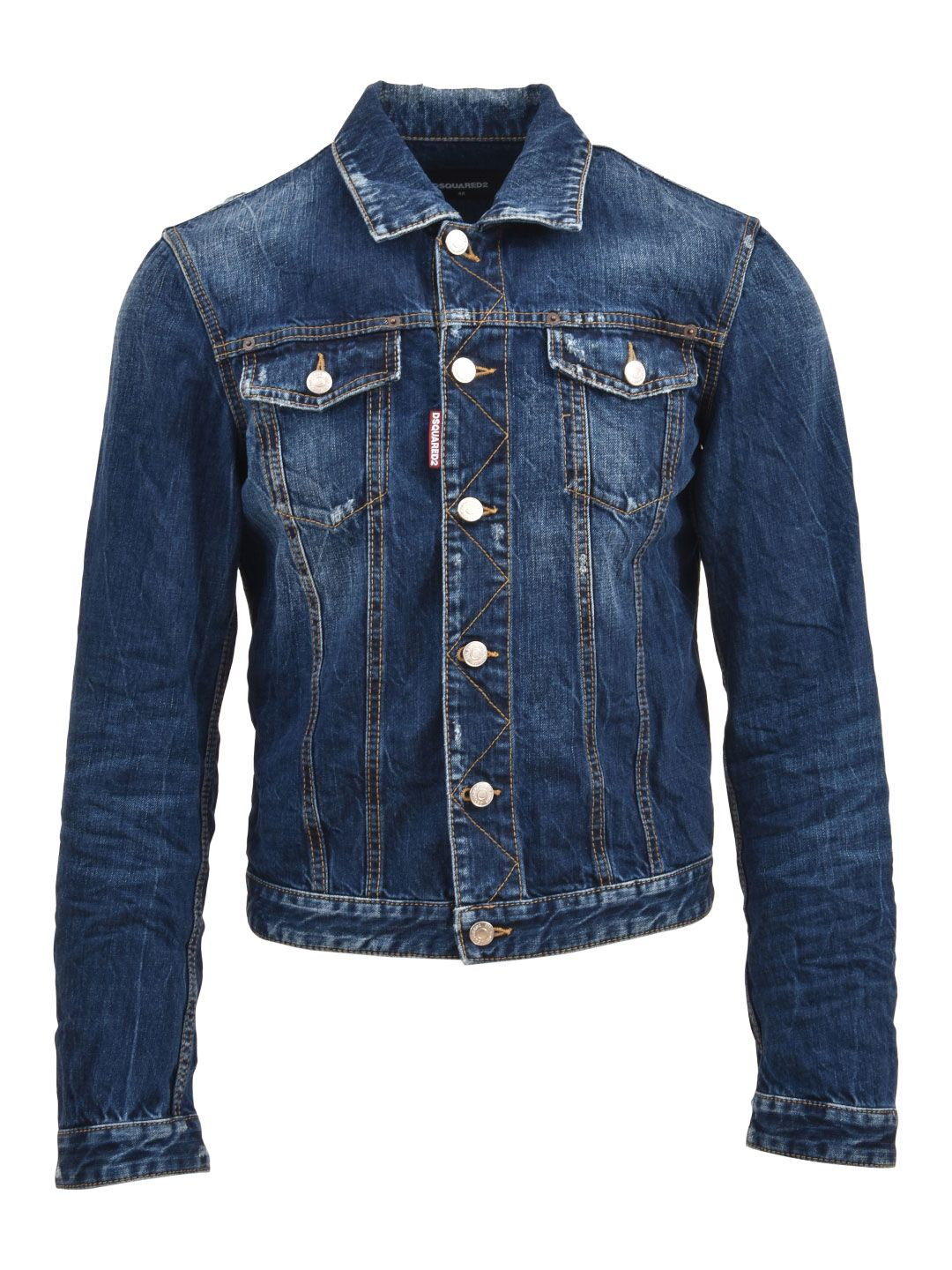Dsquared2 Denim Jacket Blue