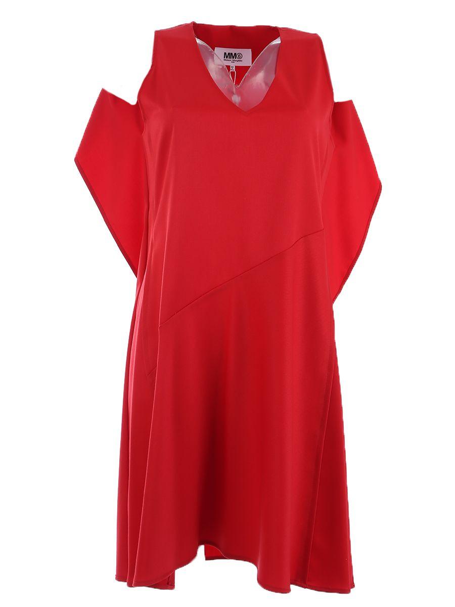 Wool Blend Twill Dress