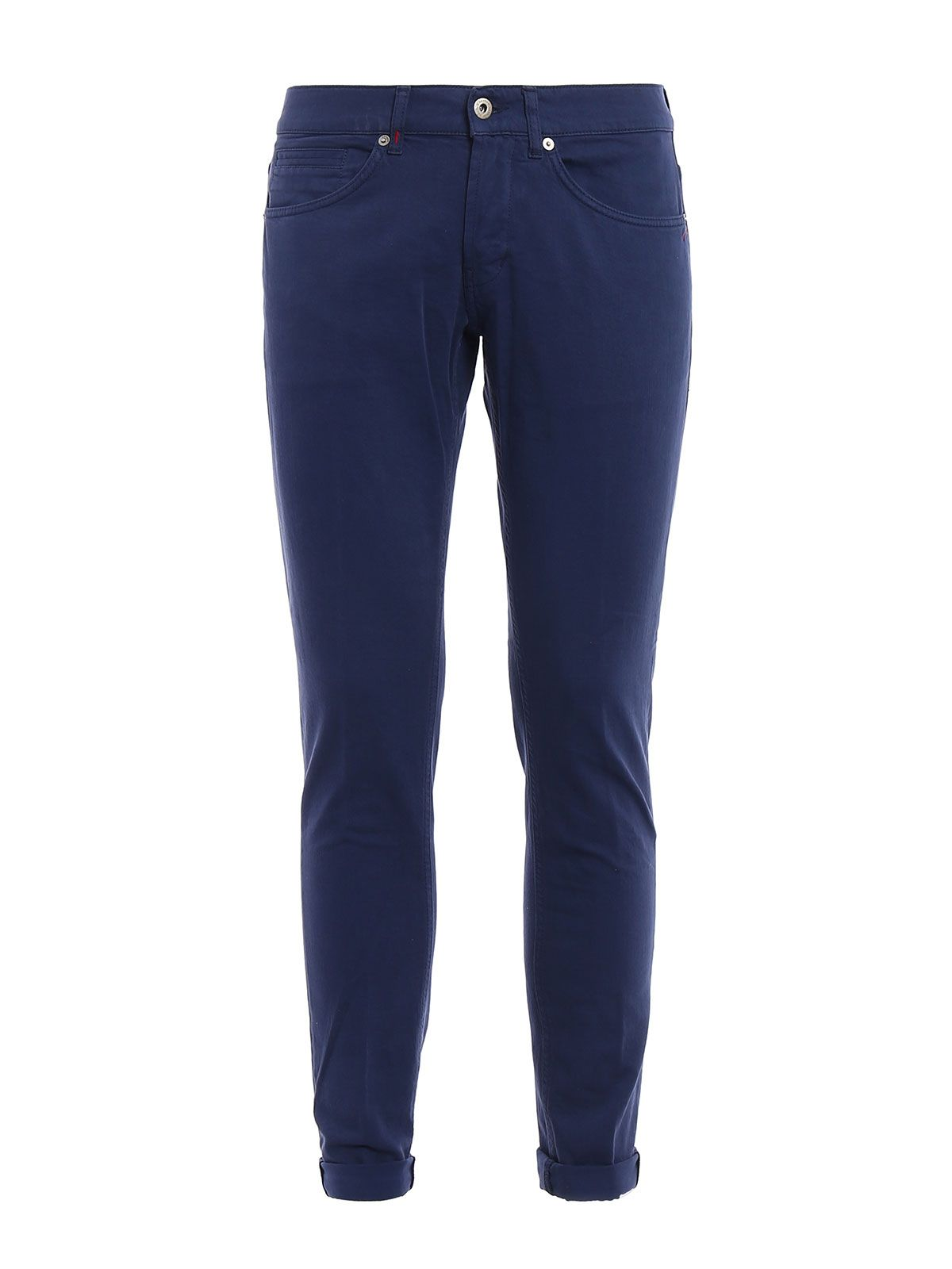 George Skinny Fit Cotton Trousers