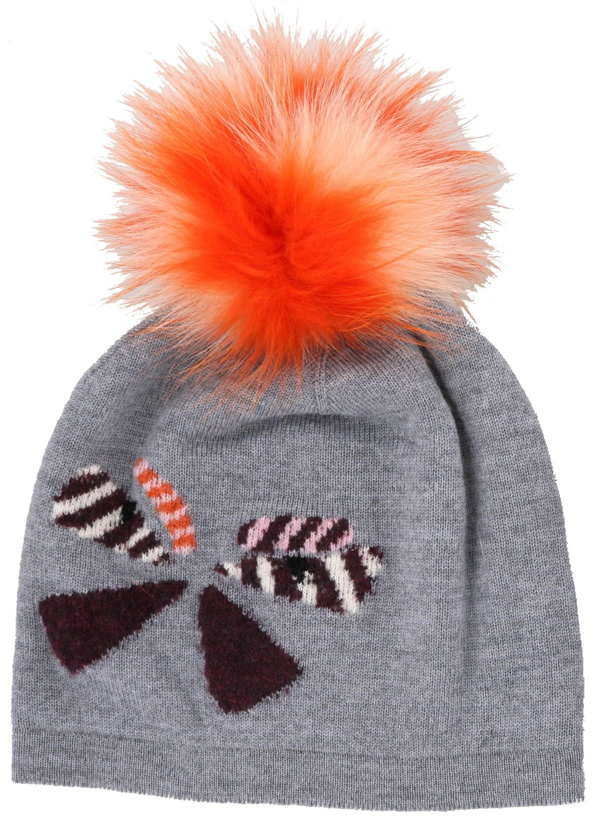 Fendi Bag Bugs Wool Hat