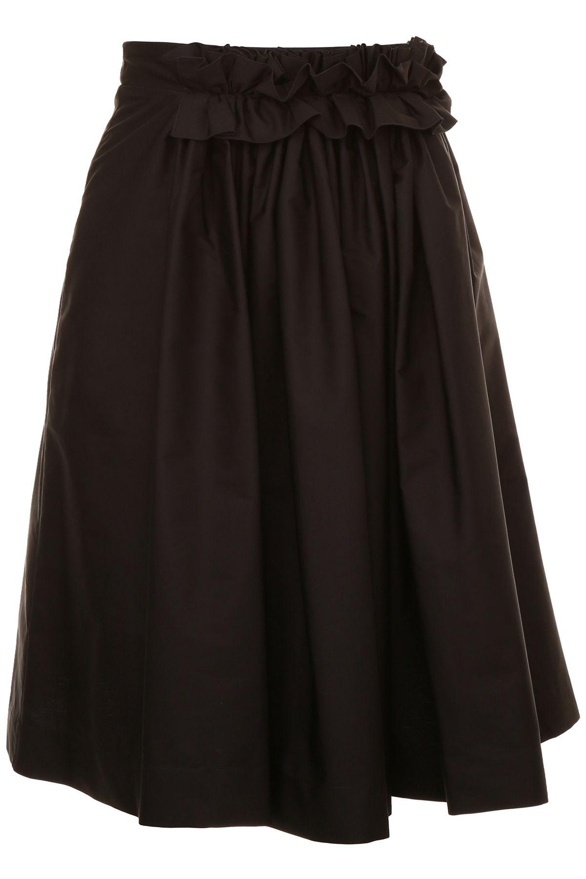 Ruffled Skirt